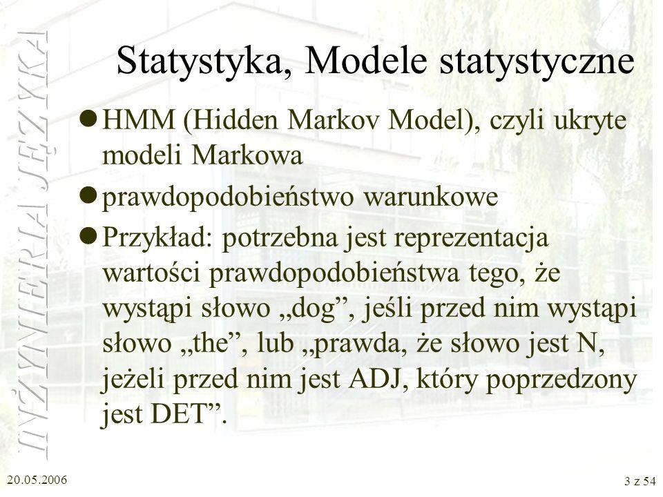 Statystyka, Modele statystyczne