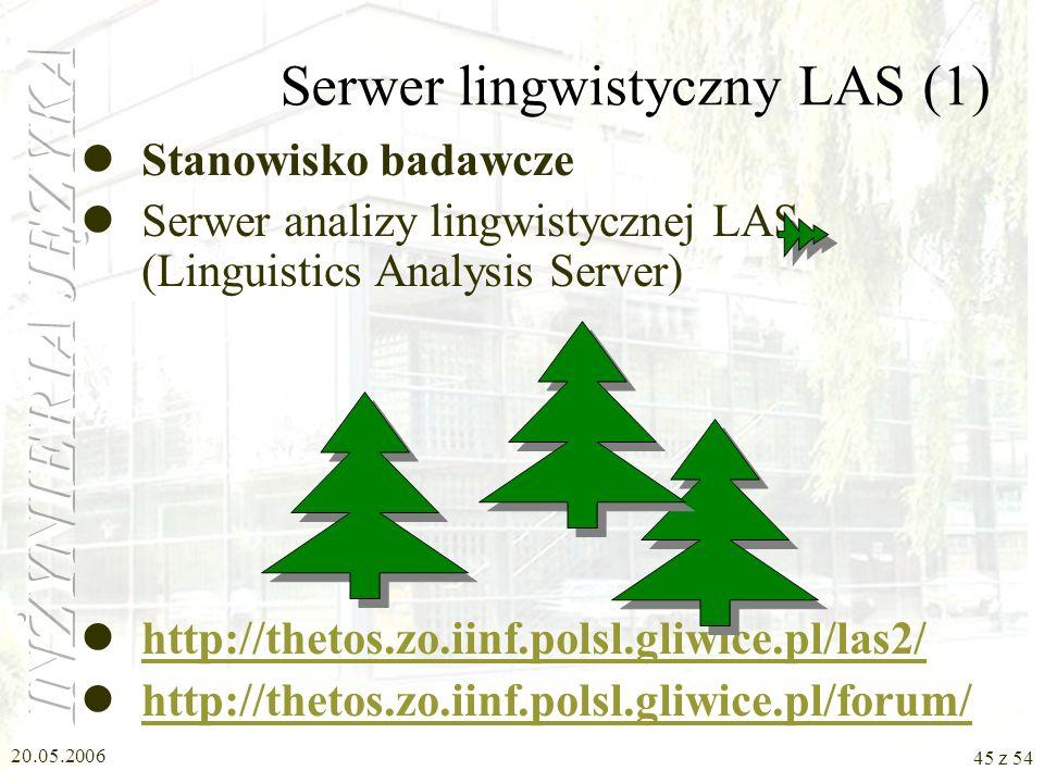 Serwer lingwistyczny LAS (1)
