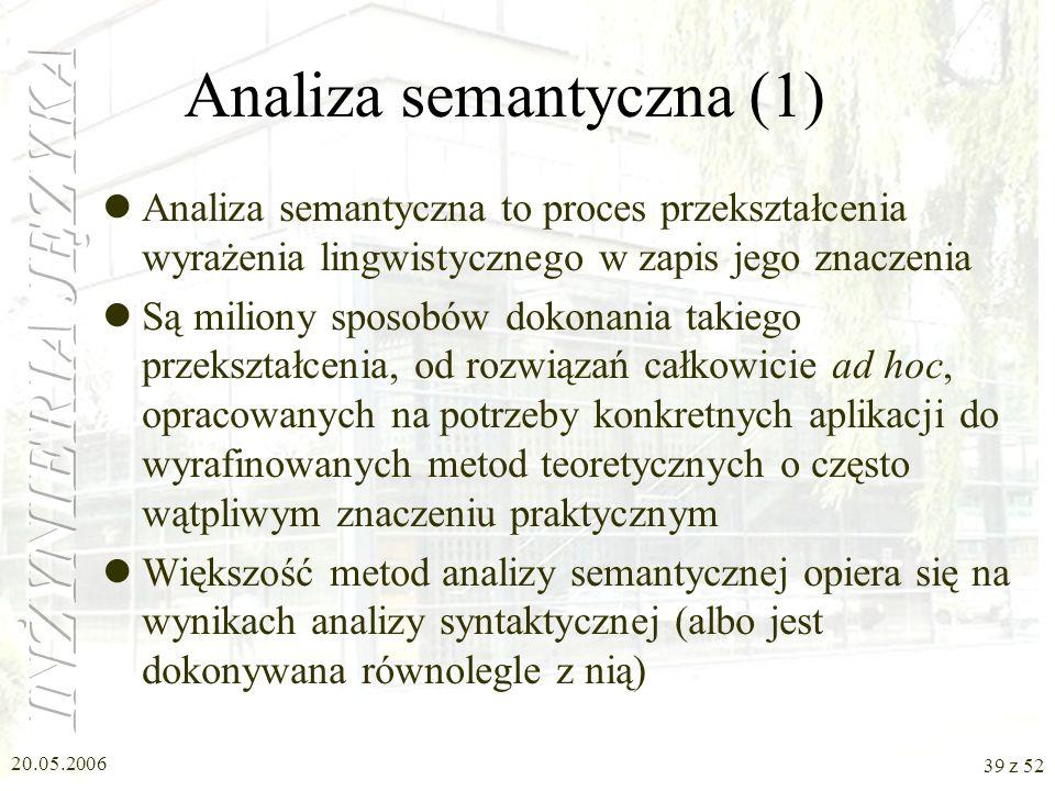 Analiza semantyczna (1)