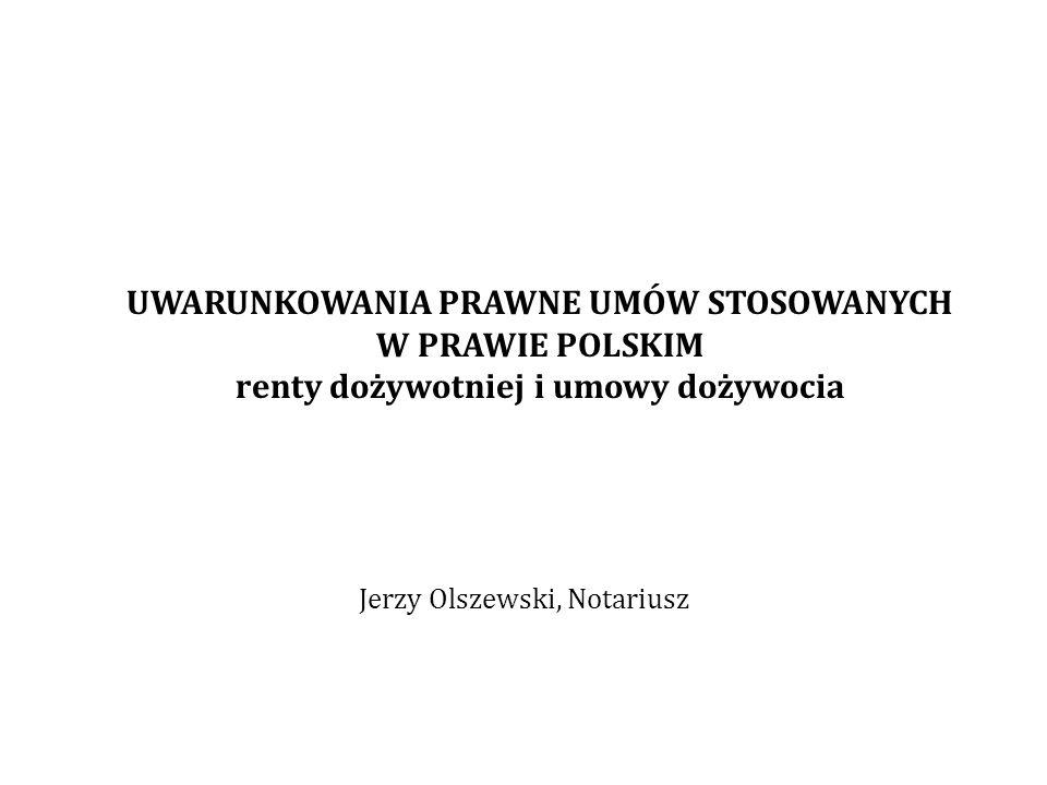 Jerzy Olszewski, Notariusz