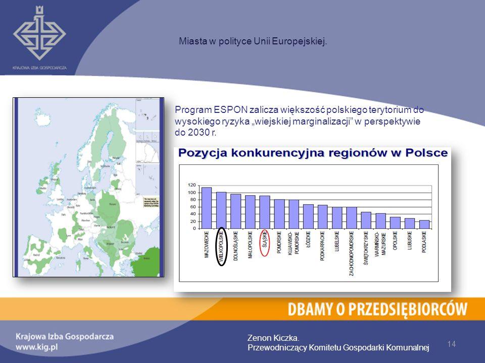 Miasta w polityce Unii Europejskiej.