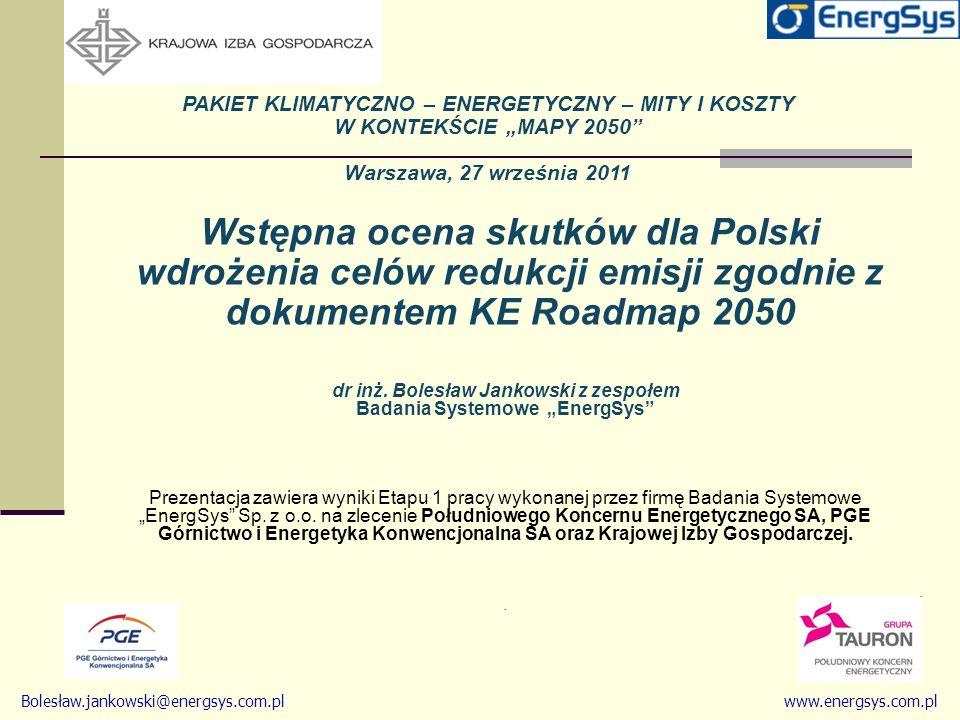 Wstępna ocena skutków dla Polski