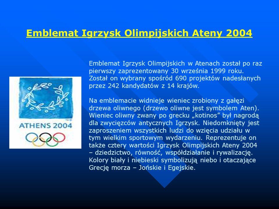 Emblemat Igrzysk Olimpijskich Ateny 2004