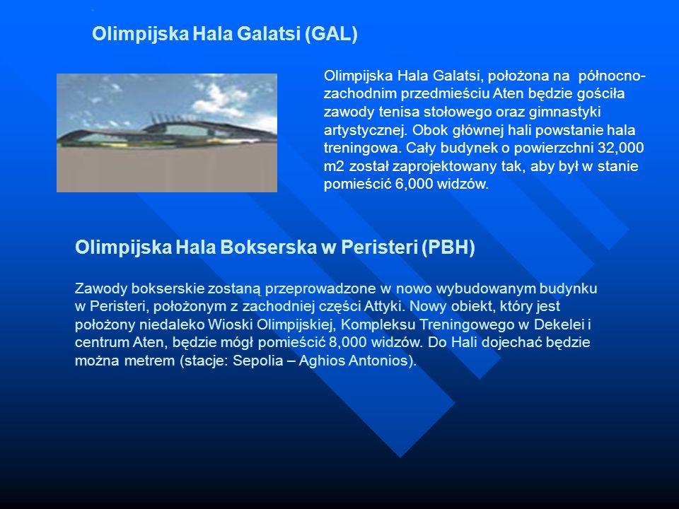 Olimpijska Hala Bokserska w Peristeri (PBH)