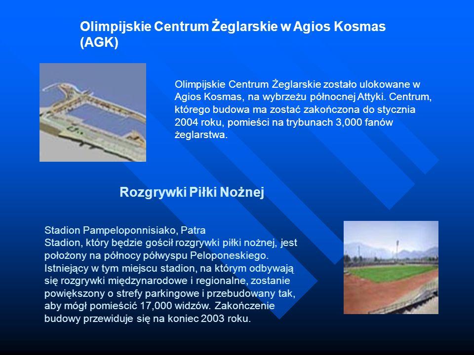 Olimpijskie Centrum Żeglarskie w Agios Kosmas (AGK)