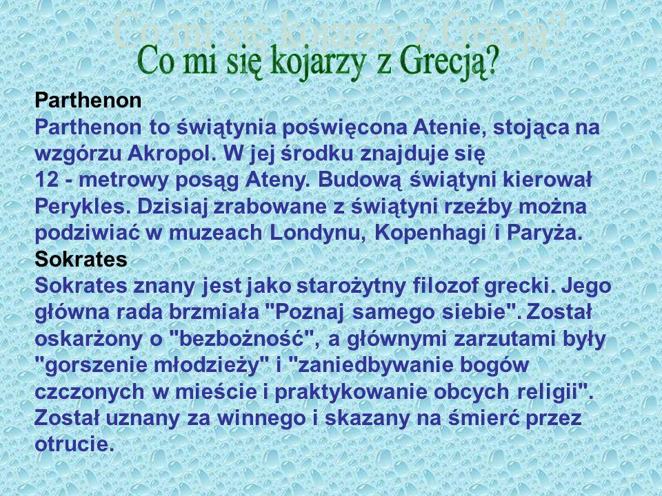 Co mi się kojarzy z Grecją