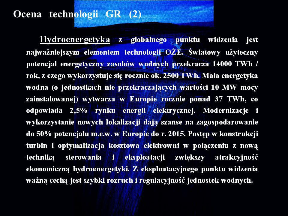 Ocena technologii GR (2)