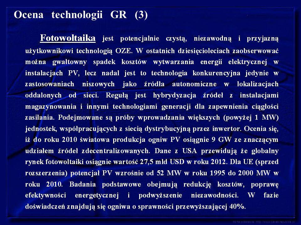 Ocena technologii GR (3)