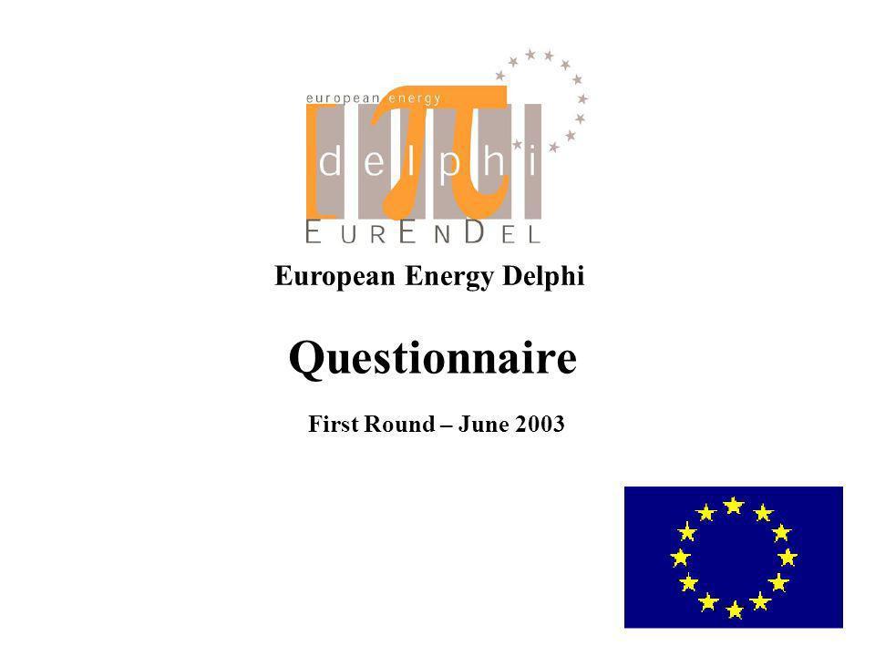 European Energy Delphi