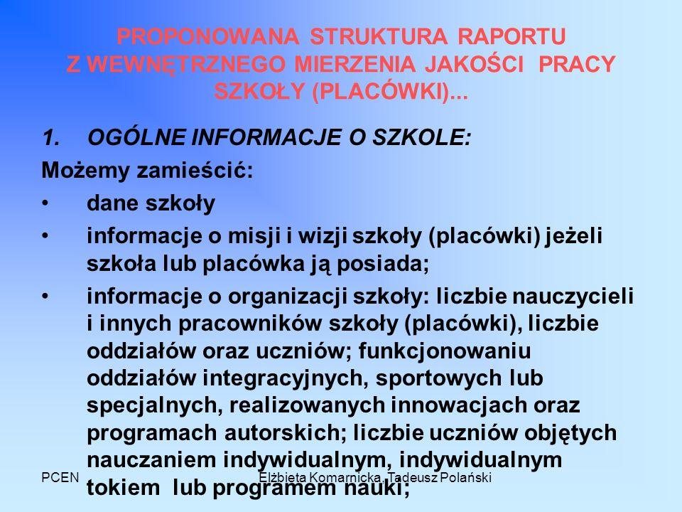 Elżbieta Komarnicka, Tadeusz Polański