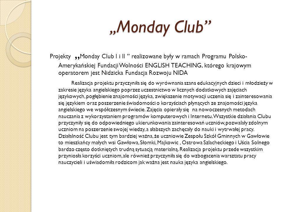 ,,Monday Club