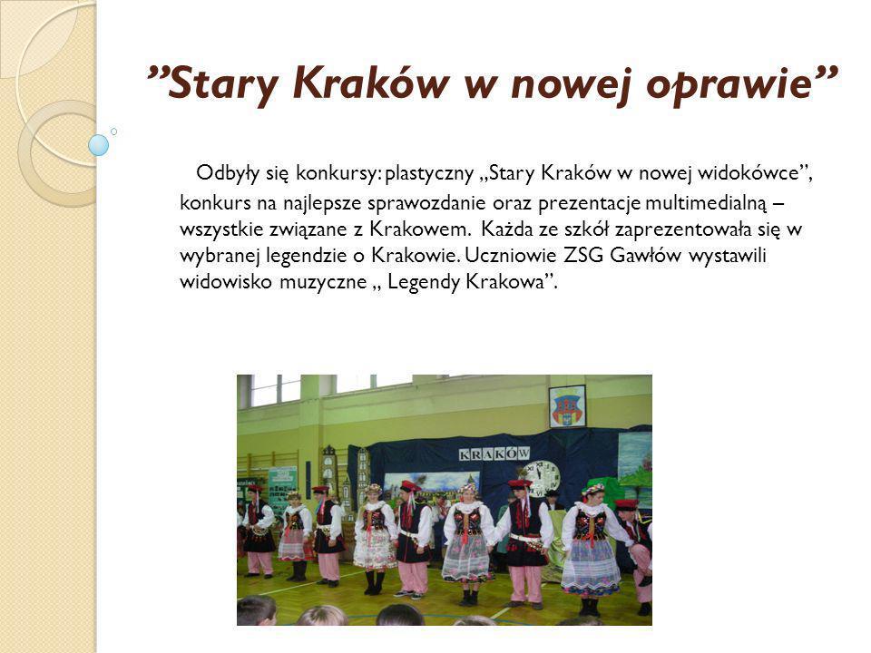Stary Kraków w nowej oprawie