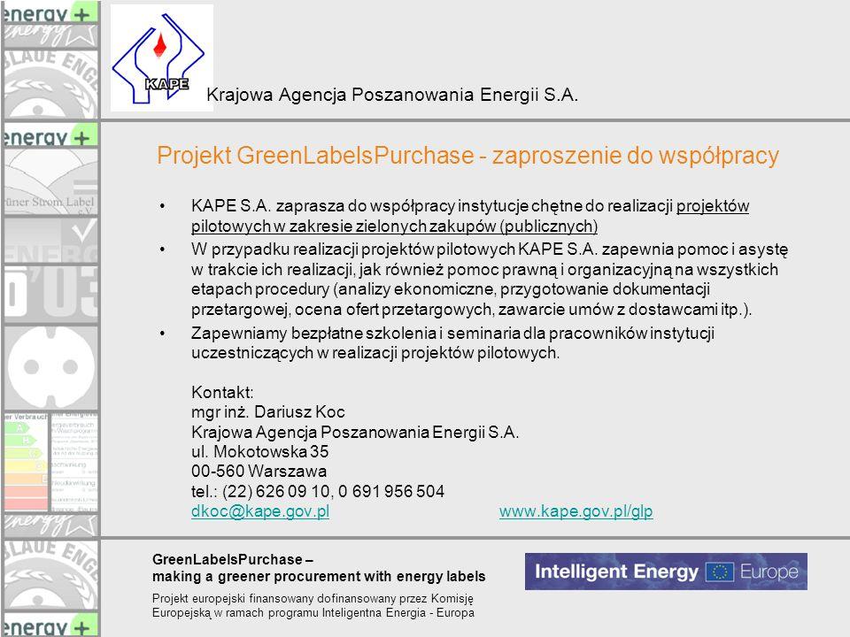 Projekt GreenLabelsPurchase - zaproszenie do współpracy