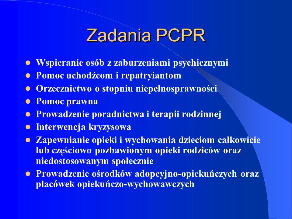 Zadania PCPR Wspieranie osób z zaburzeniami psychicznymi