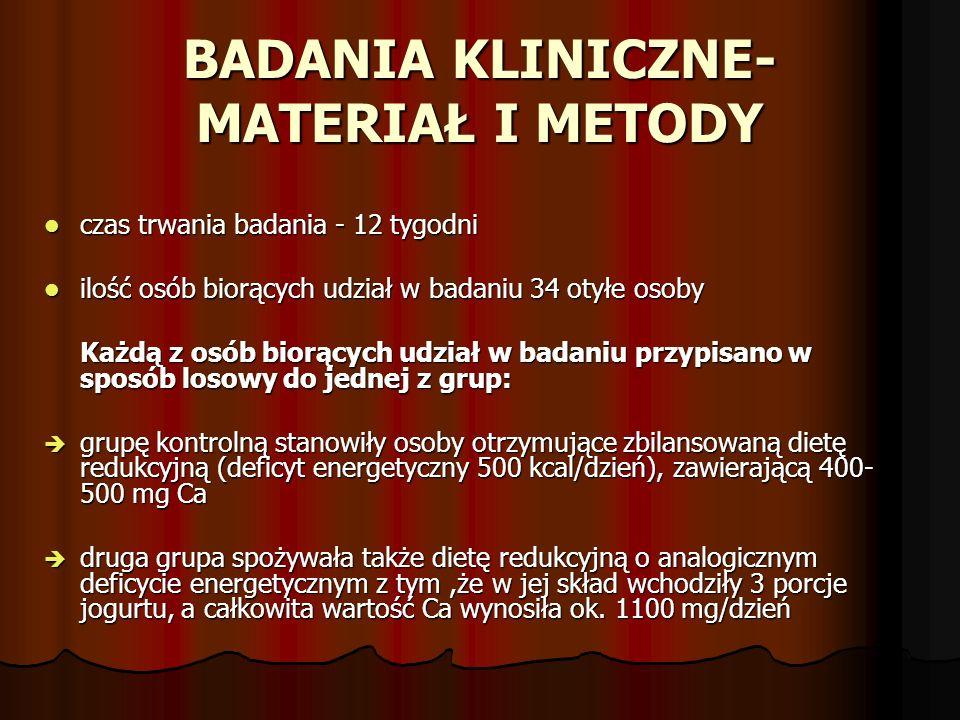 BADANIA KLINICZNE-MATERIAŁ I METODY