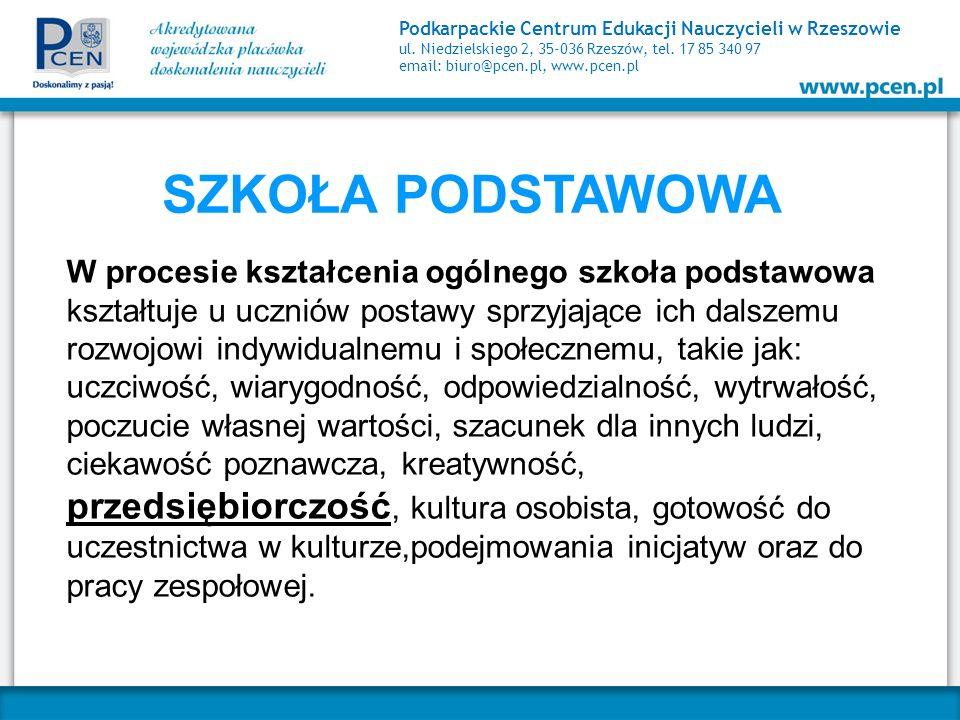 Podkarpackie Centrum Edukacji Nauczycieli w Rzeszowie