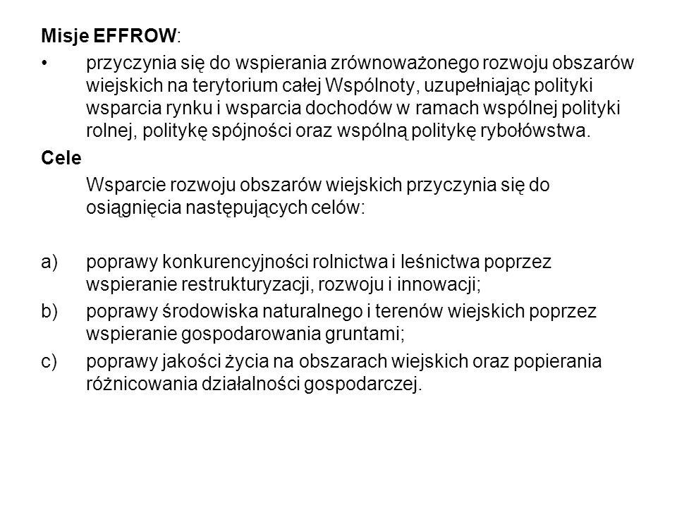 Misje EFFROW: