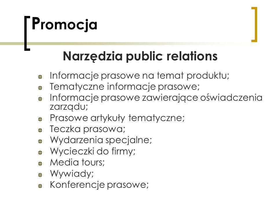 Narzędzia public relations