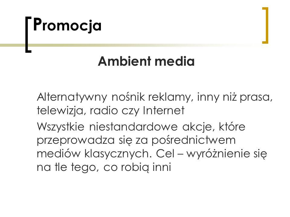 Promocja Ambient media