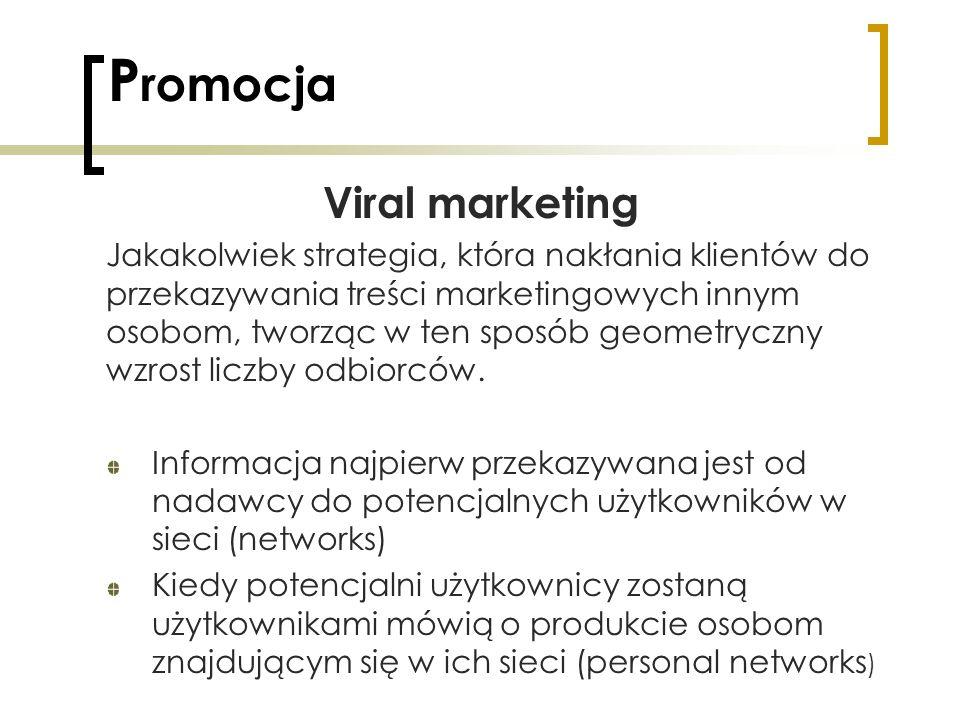 Promocja Viral marketing