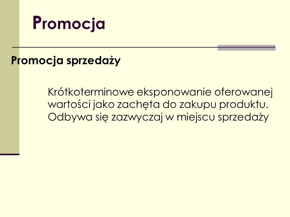 Promocja Promocja sprzedaży