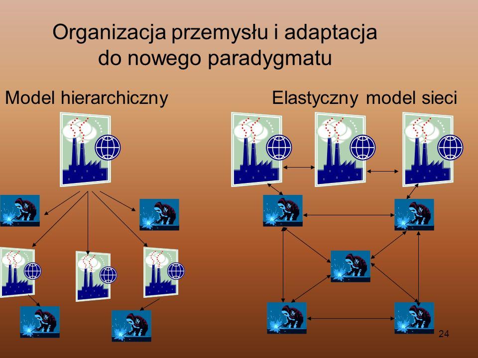 Organizacja przemysłu i adaptacja do nowego paradygmatu