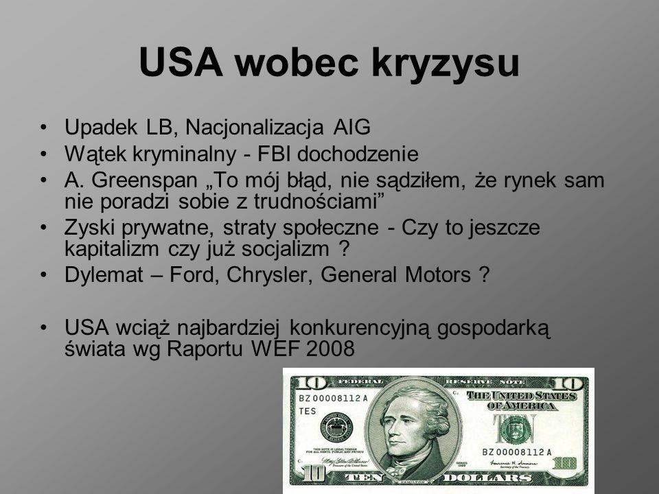USA wobec kryzysu Upadek LB, Nacjonalizacja AIG