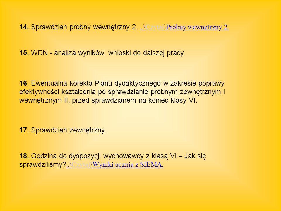 14. Sprawdzian próbny wewnętrzny 2. ..\Czytaj\Próbny wewnętrzny 2.
