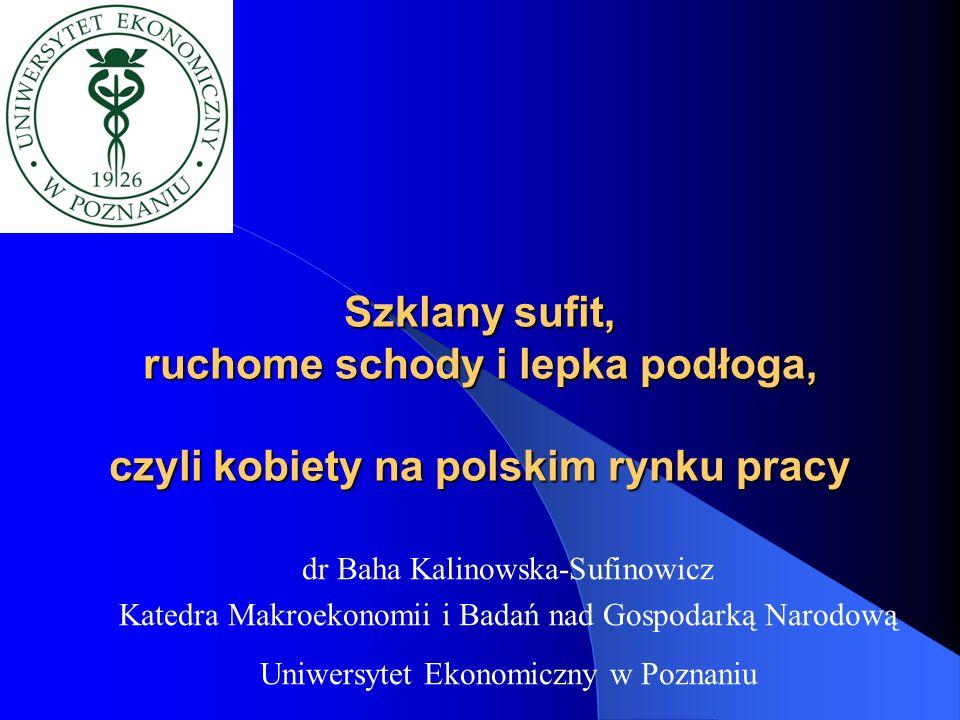Szklany sufit, ruchome schody i lepka podłoga, czyli kobiety na polskim rynku pracy