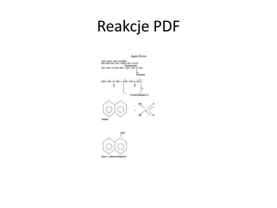 Reakcje PDF