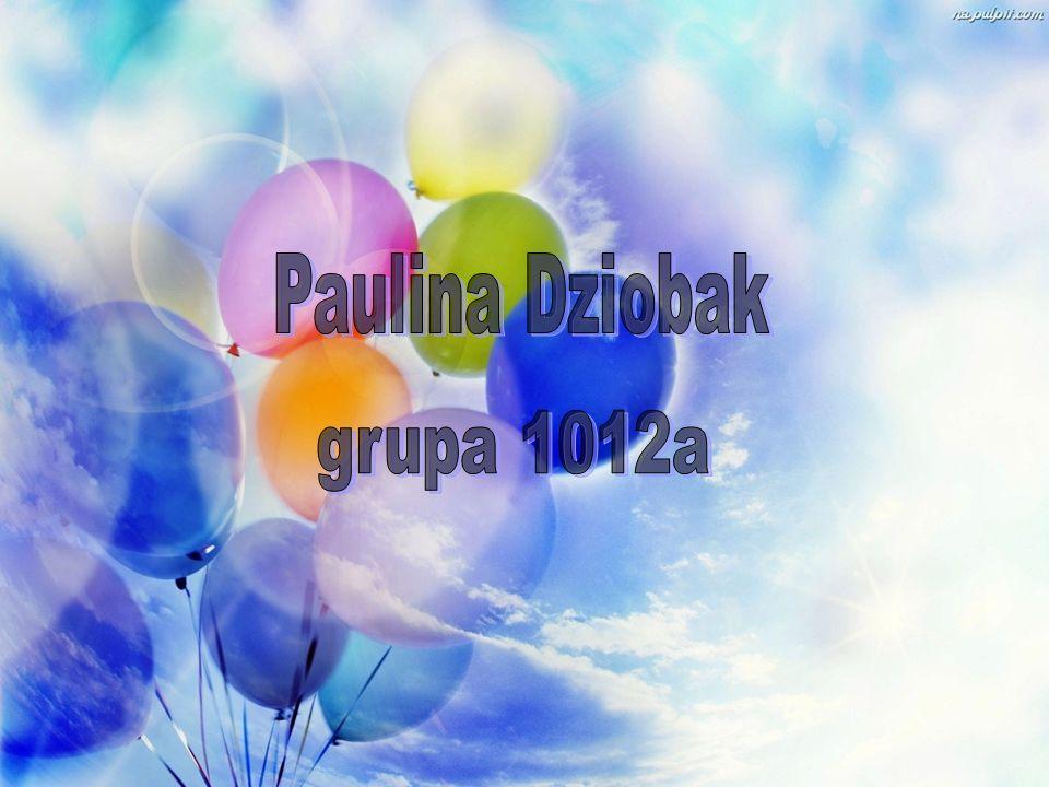 Paulina Dziobak grupa 1012a