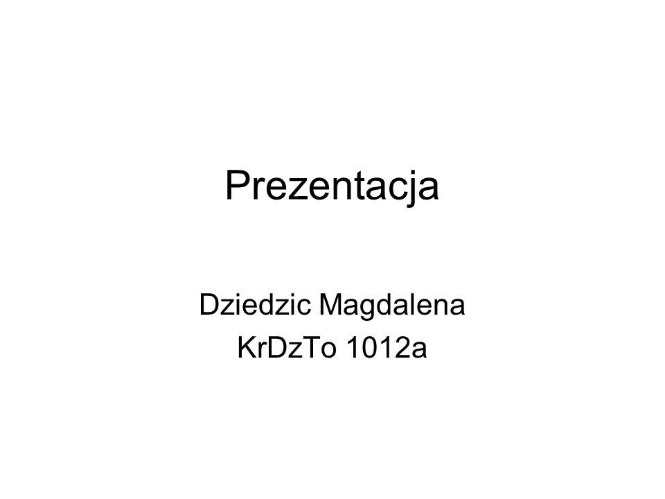 Dziedzic Magdalena KrDzTo 1012a