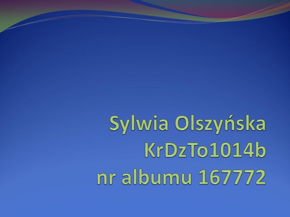 Sylwia Olszyńska KrDzTo1014b nr albumu 167772