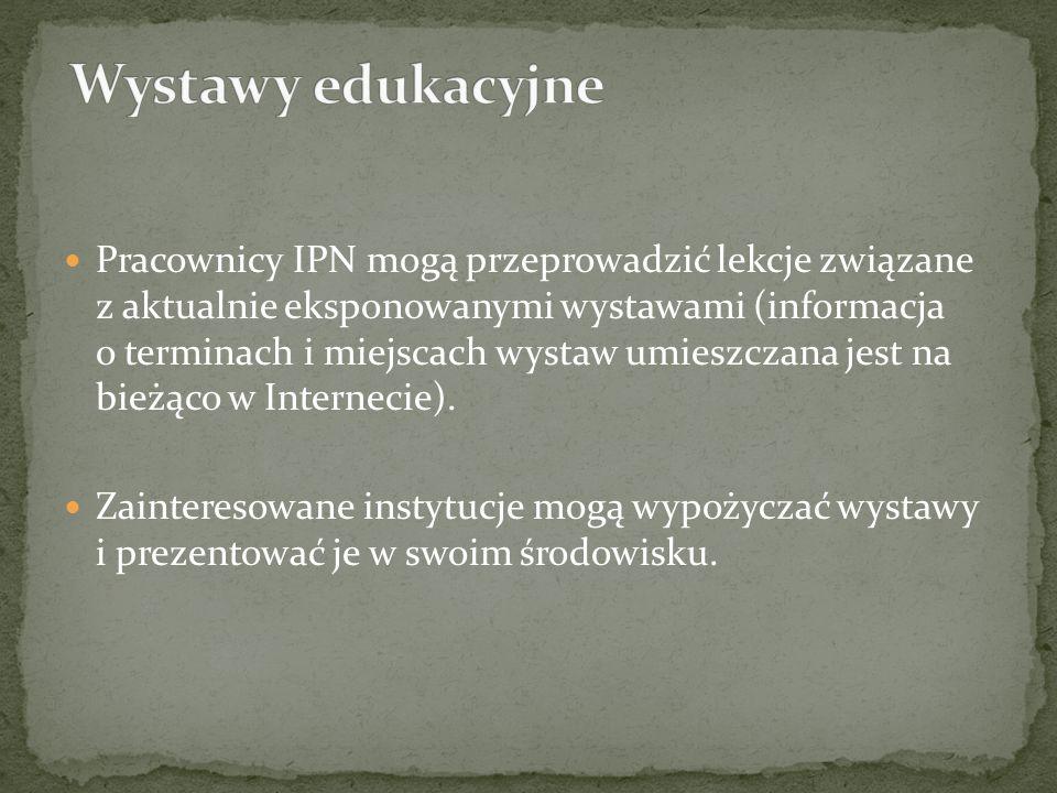 Wystawy edukacyjne