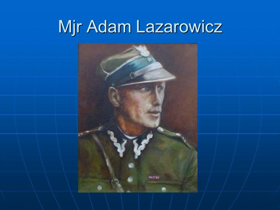 Mjr Adam Lazarowicz