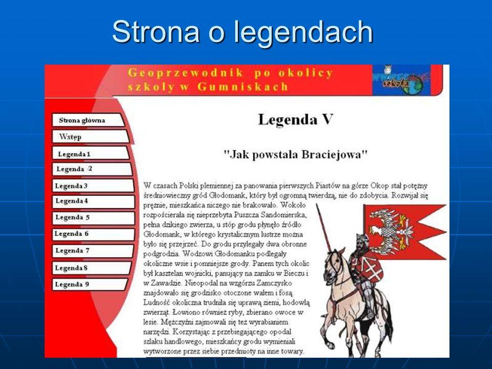 Strona o legendach