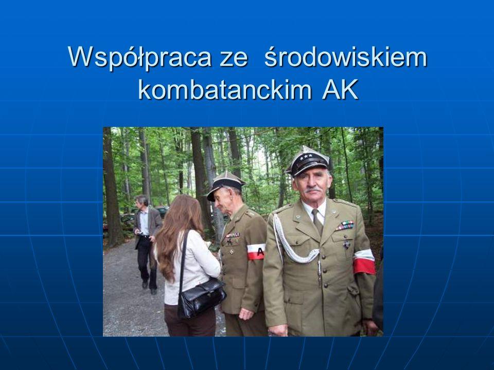 Współpraca ze środowiskiem kombatanckim AK