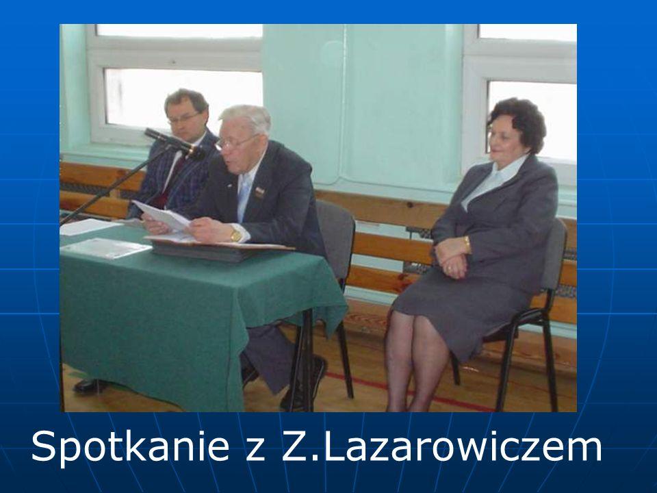 Spotkanie z Z.Lazarowiczem