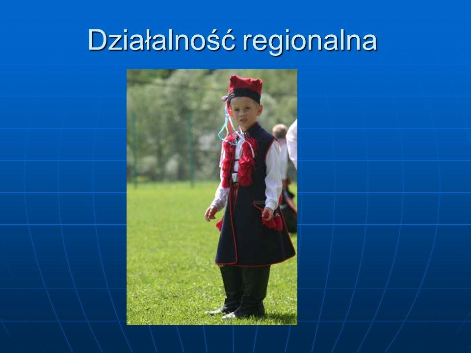 Działalność regionalna