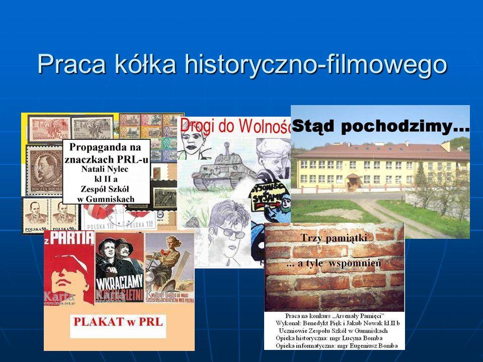 Praca kółka historyczno-filmowego