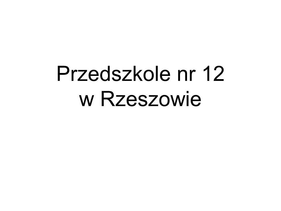 Przedszkole nr 12 w Rzeszowie