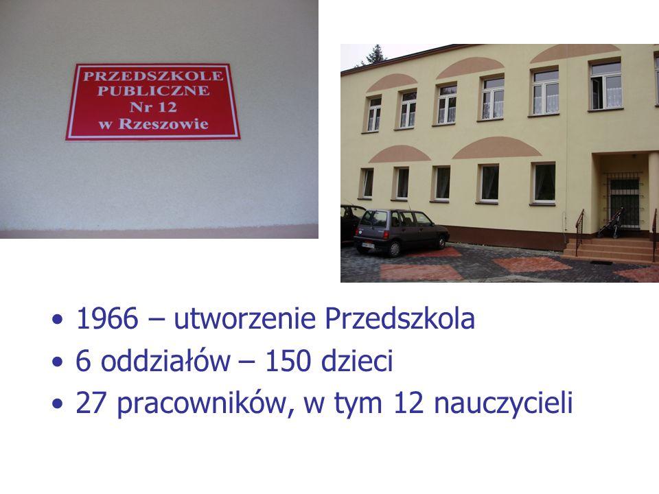 1966 – utworzenie Przedszkola