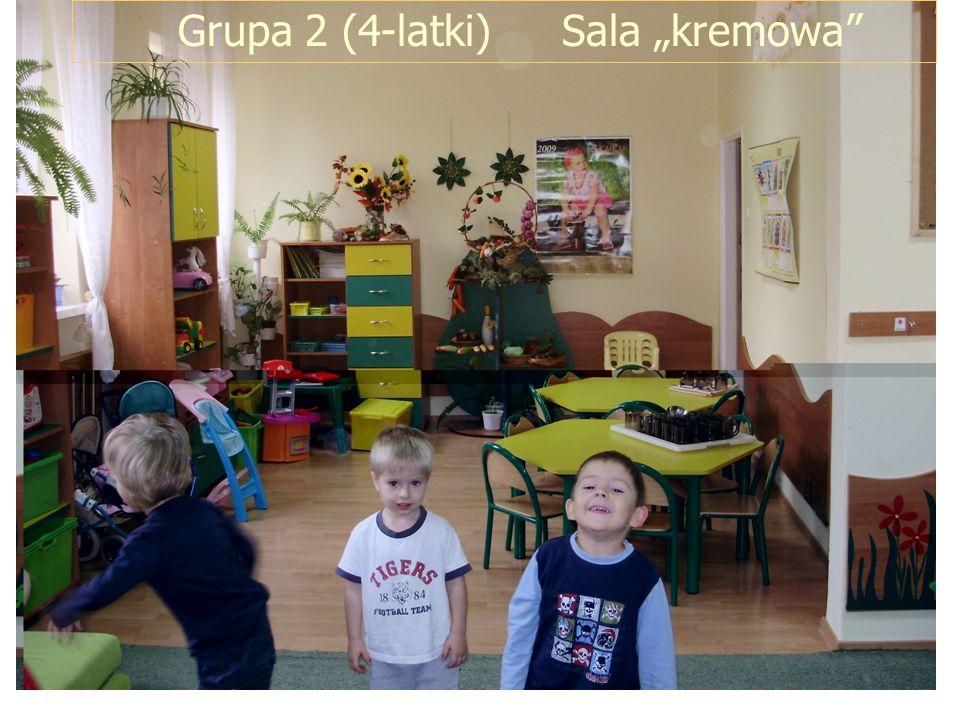 "Grupa 2 (4-latki) Sala ""kremowa"