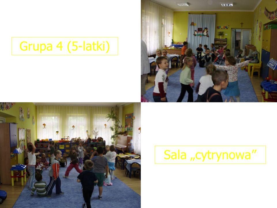"""Grupa 4 (5-latki) Sala """"cytrynowa"""
