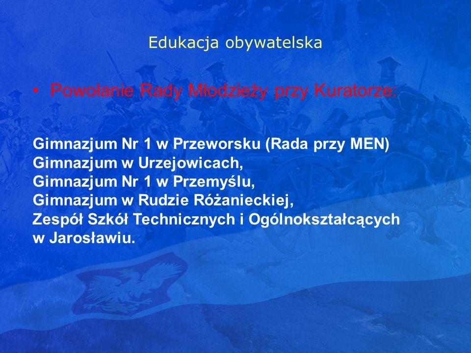 Powołanie Rady Młodzieży przy Kuratorze: