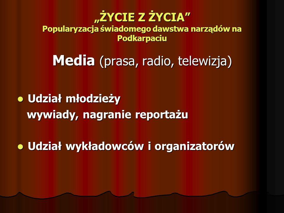 Media (prasa, radio, telewizja)
