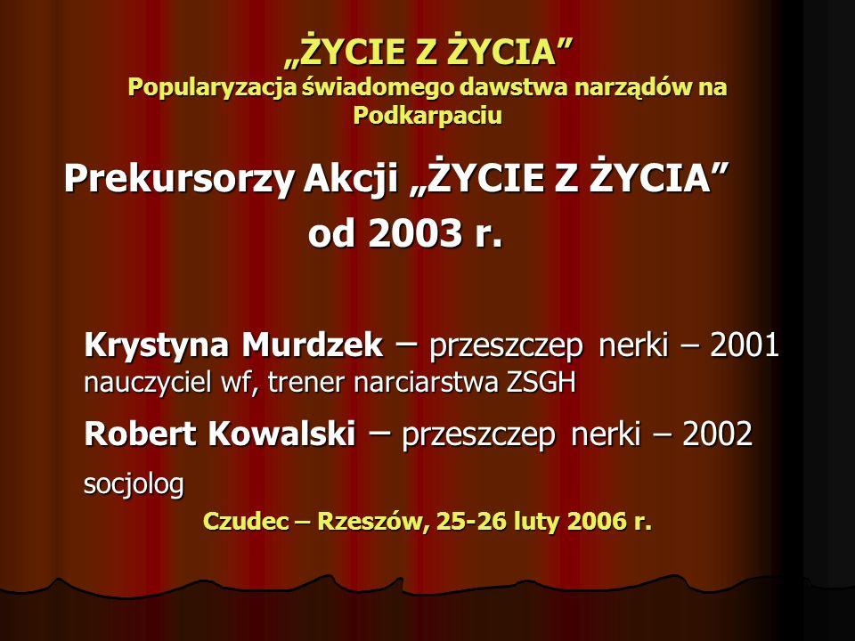Czudec – Rzeszów, 25-26 luty 2006 r.