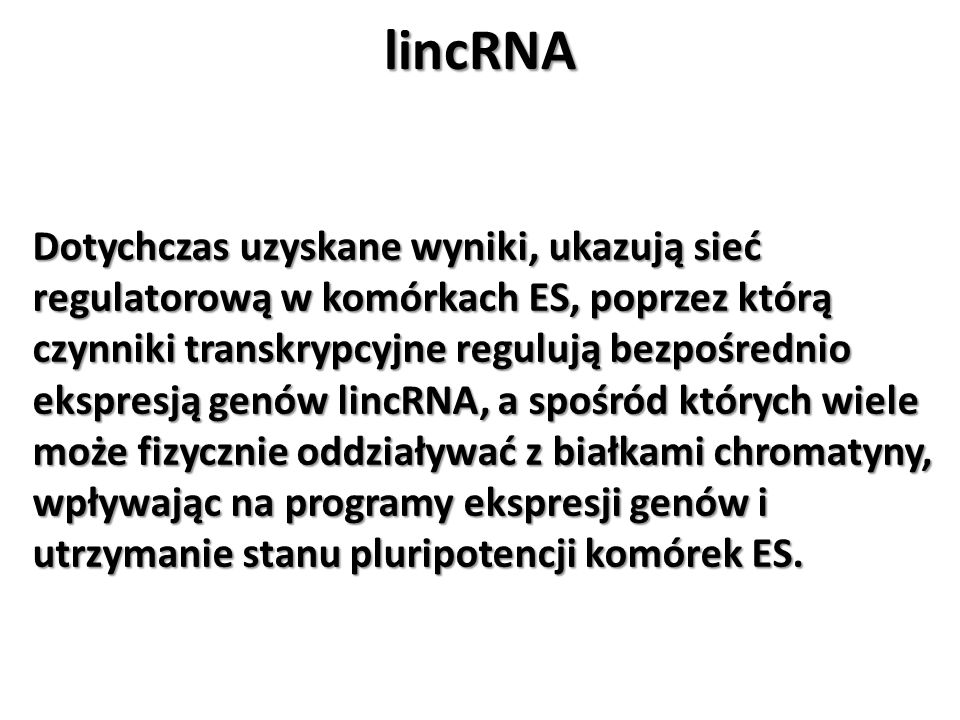 lincRNA