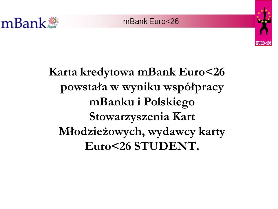 mBank Euro<26