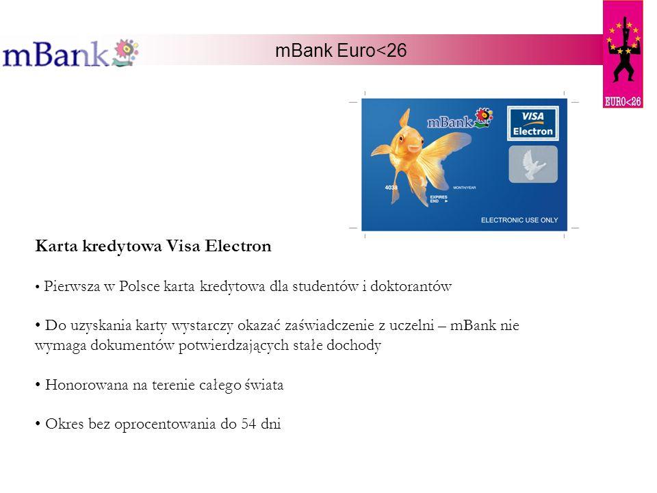 Karta kredytowa Visa Electron